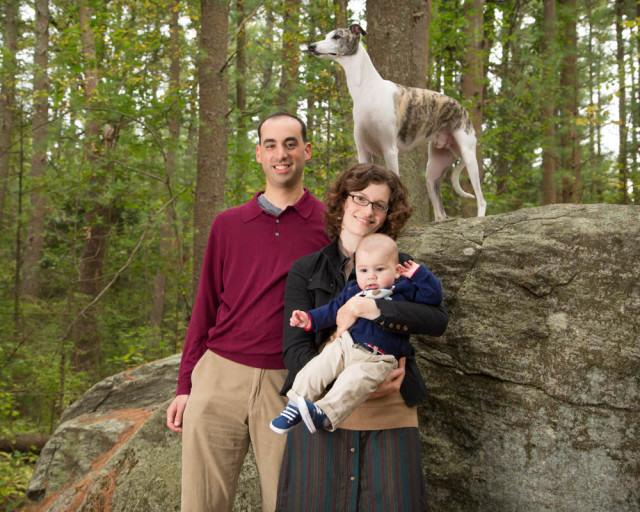 Family Photo Carlisle MA lookout